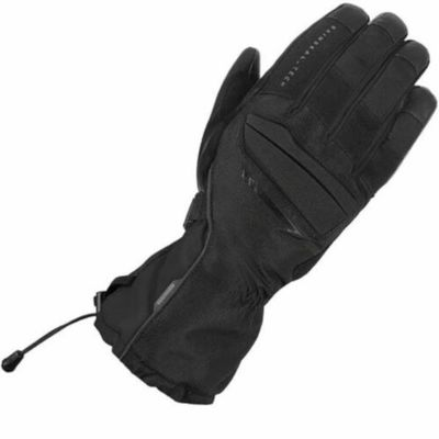Oxford Convoy 2.0 WP Textile Motorcycle Motorbike Touring Gloves – Stealth Black
